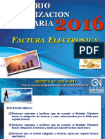 Actualización Tributaria 2016_Tema 7_Factura Electrónica