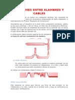 1 Empalmes Entre Alambres y Cables