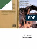 Agamben Giorgio - El Hombre Sin Contenido.pdf