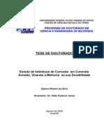 Estudo de Inibidores de Corrosão Em Concreto