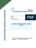 Criterios de Diseño Subestaciones at LATAM 1 Versión