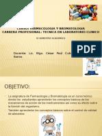 Farmacologia y Bromatologia