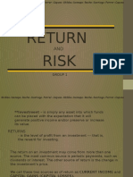 Return&Risk - Final Na to! Pramis.