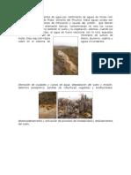 Contaminación de Fuentes de Agua Por Vertimiento de Aguas de Minas