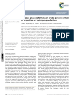Aqueous-phase Reforming of Crude Glycerol Impurities