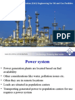 Electrical and Instrumentation Engineering for Oil and Gas Facilities