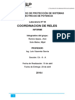 Lab 4 -Coordinacion de Reles.