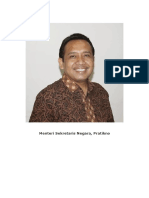 Menteri Kabinet Jokowi