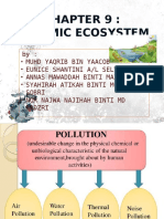 Bio Chapter 9-POLLUTION