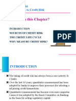 The Credit Risks and Credit Life Cycle