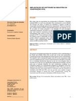 Artigo Giovaine 2014 - Implantação de Software Na Industria Da Construção Civil.