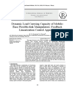 Dynamic Load Carrying Capacity of Mobile- Base Flexible-link Manipulators