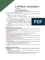 Principles of Micro Economics