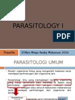 Pendahuluan Parasitologi