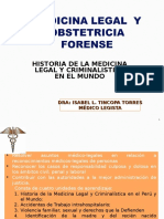 1º Clase-historia Medicina Legal Forence