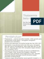 Thalasemia Beta Mayor