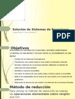 Método de Reducción, Inversa de Una Matriz, Determinantes