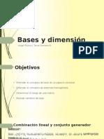 Bases y Dimensión
