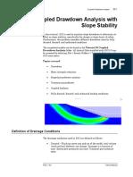 Tutorial 38 Coupled Drawdown Analysis