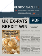FRIENDS' GAZETTE May 2016