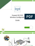 Huawei HG 231f