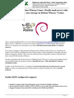 Install Postfix Mail Server Dovecot Mysql User Storage Debian Wheezy 7 Linux