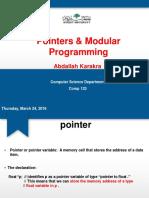 Pointers+&+Modular+Programming