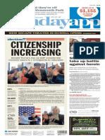 Asbury Park Press front page Sunday, May 15 2016