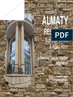 "The ""ALMATY RESIDENCE"" Business Centre & Apart Hotel"