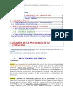 Tema 1 PSICOLOGIA DE LA EDUCACIÓN EDUCACIÓN UNED 2016