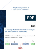 Crypto Lecture 08