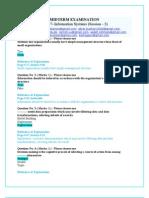 CS507 Midterm Paper