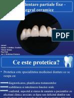 Proteze Dentare Partiale Fixe - Film