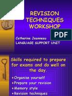 revisiontechniquesworkshopspring05-111125060547-phpapp02