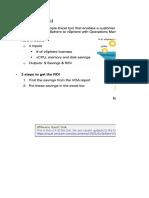 VSphere Optimization Assessment _VOA_ - ROI Tool