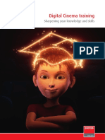 Digital Cinema Training Brochure