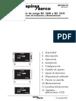 Controlador de Purga BC 3200 Y BC 3210-Instrucciones de Instalación y Mantenimiento