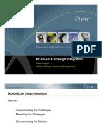 MCAD-ECAD Design Integration
