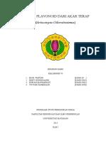 Isolasi Flavonoid Dari Artocarpus Odoratissimus