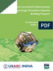 Architectural Curriculum Enhancement Capacity Building