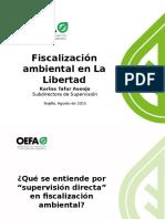 Karina Tafur PPT Foro La Libertad Acciones de Supervisión Directa 21.08.15