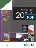 Juta Law Price Index Jan-June 2016 Web 2
