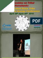 Renewables on Tribal Homelands