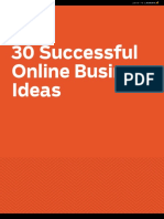30 Successful Business Ideas