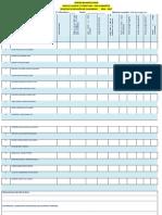 Formato para evaluar la gestión del docente en el desarrollo y revisión de Las Guías de Lengua