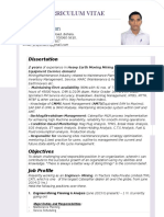 New Resume Pank Godrej