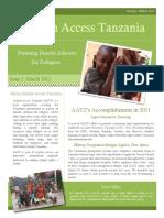 AATZ Quarterly Newsletter_Issue 1