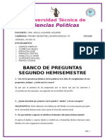 Banco de Preguntas - Ciencias Politicas - Segundo Parcial . (1)