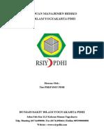Panduan Manajemen Risiko RSIY PDHI