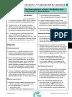BSSM ED Management Guidelines 2009